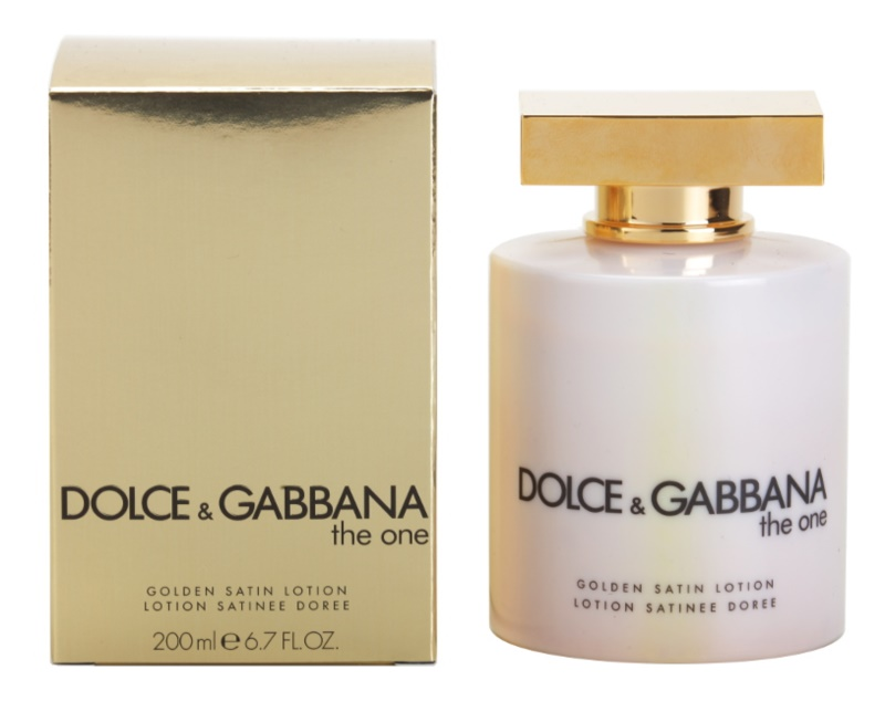 Dolce & Gabbana The One lotion corps pour femme 200 ml (golden satin)