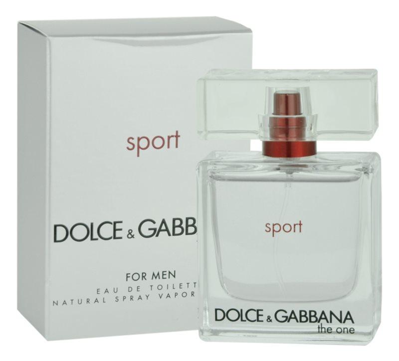 Dolce & Gabbana The One Sport туалетна вода для чоловіків 50 мл