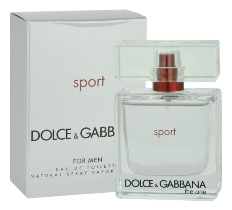 Dolce & Gabbana The One Sport toaletní voda pro muže 30 ml