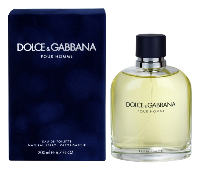 Dolce & Gabbana Pour Homme Eau de Toilette for Men 200 ml