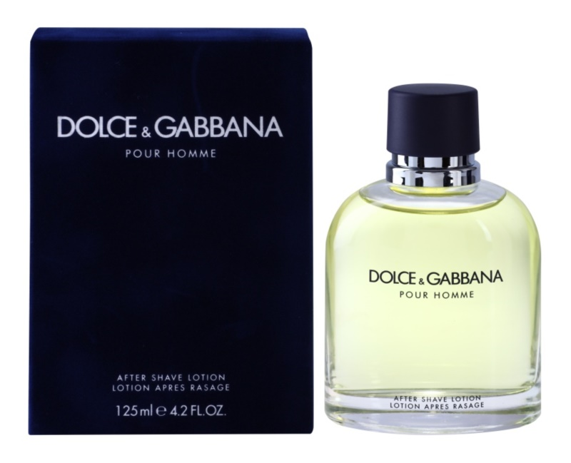 Dolce & Gabbana Pour Homme Aftershave lotion  voor Mannen 125 ml