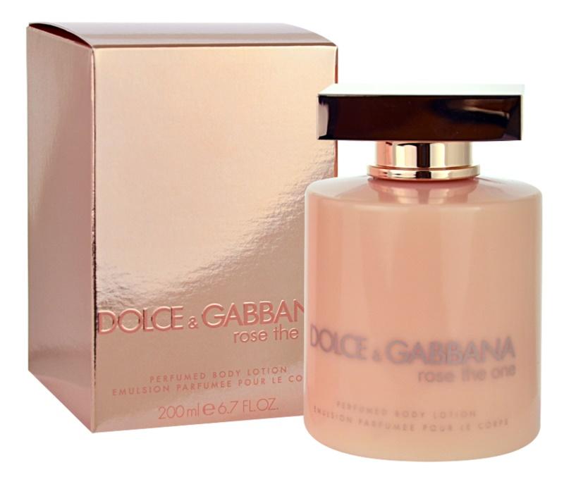 Dolce & Gabbana Rose The One mleczko do ciała dla kobiet 200 ml