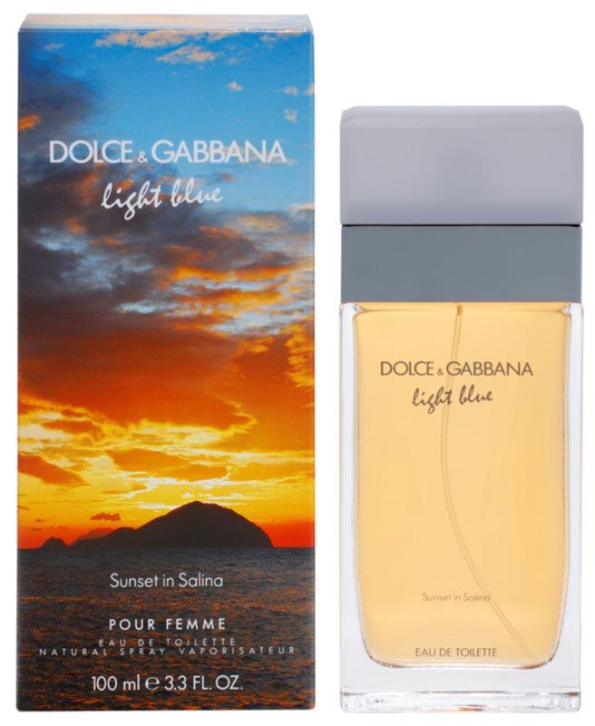 Dolce & Gabbana Light Blue Sunset in Salina Eau de Toilette voor Vrouwen  100 ml