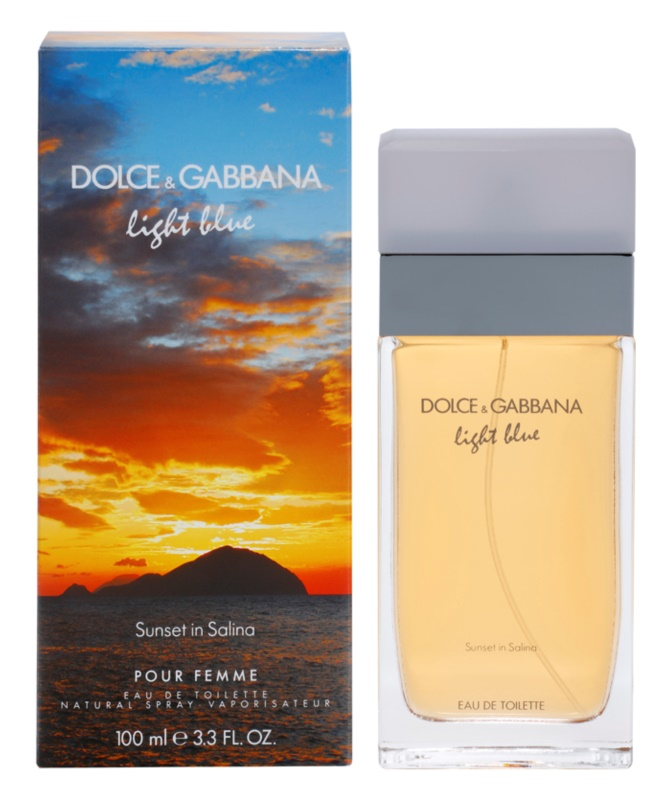 Dolce & Gabbana Light Blue Sunset in Salina toaletní voda pro ženy 100 ml