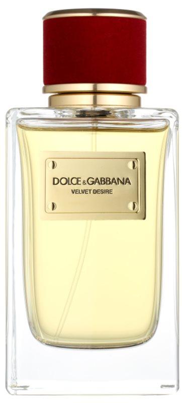 Dolce & Gabbana Velvet Desire eau de parfum nőknek 150 ml