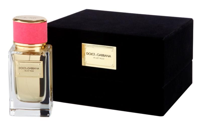 Dolce & Gabbana Velvet Rose eau de parfum pentru femei 50 ml