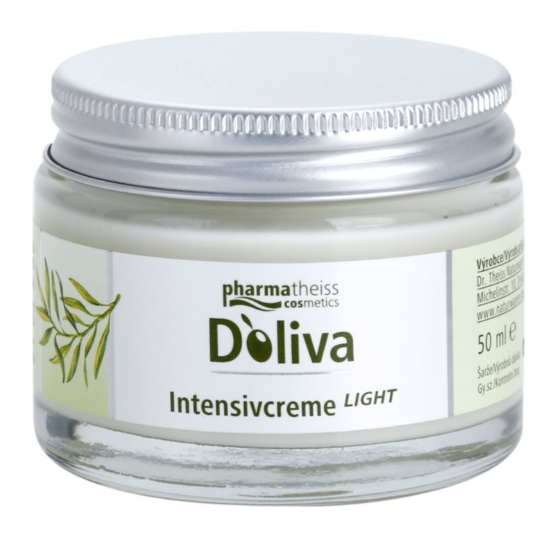 Doliva Intensive Care Light Smoothing Cream For Skin Cells Recovery
