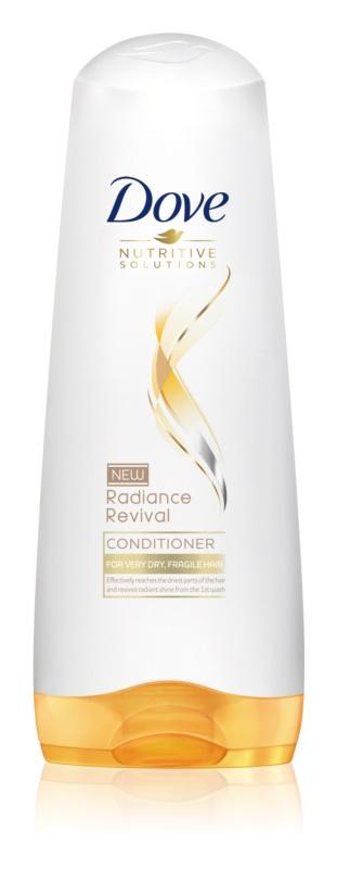 Dove Nutritive Solutions Radiance Revival Conditioner voor droog en broos haar