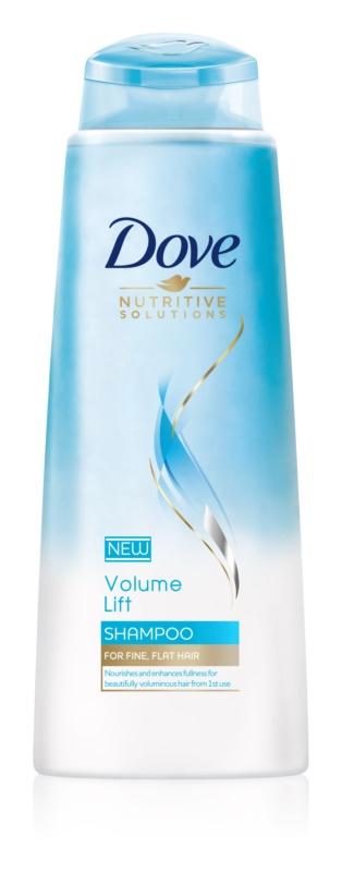 Dove Nutritive Solutions Volume Lift Shampoo für mehr Haarvolumen bei feinem Haar