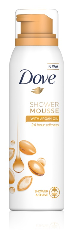Dove Argan Oil Shower Foam 3 in 1