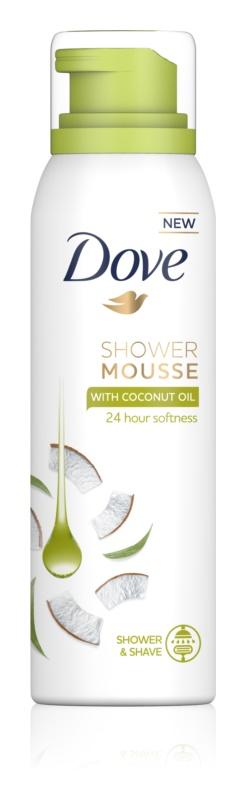 Dove Coconut Oil Duschschaum 3 in1