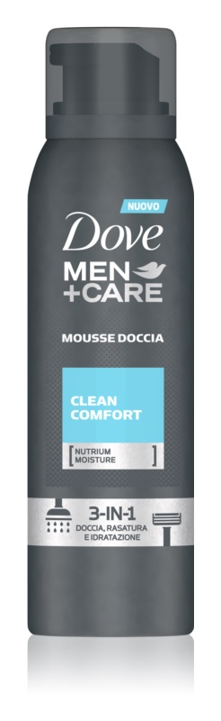 Dove Men+Care Clean Comfort spuma pentru dus 3 in 1