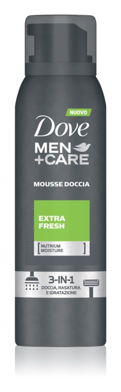 Dove Men+Care Extra Fresh Duschschaum 3 in1