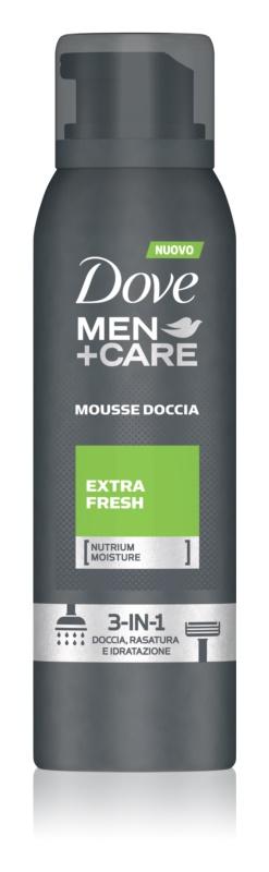 Dove Men+Care Extra Fresh spuma pentru dus 3 in 1