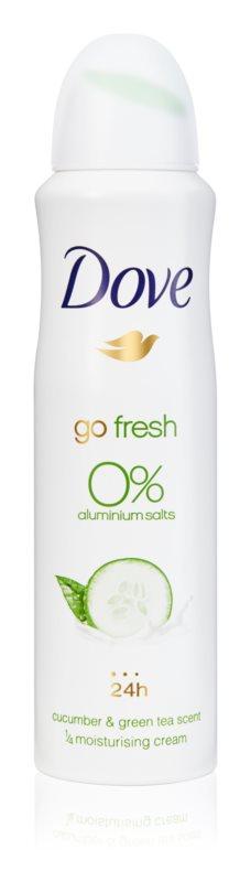 Dove Go Fresh Cucumber & Green Tea Alcohol-Free and Aluminium-Free Deodorant 24 h