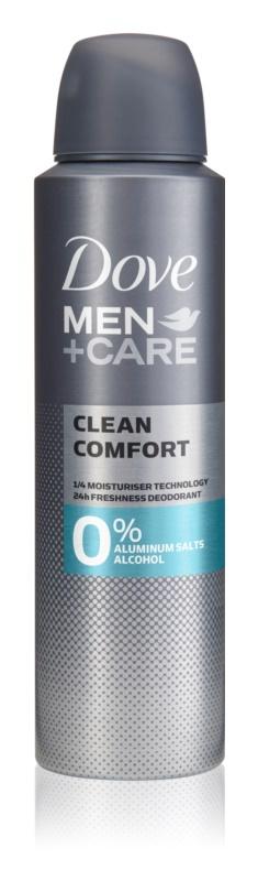 Dove Men+Care Clean Comfort дезодорант без вмісту спирту та алюмінію 24 години