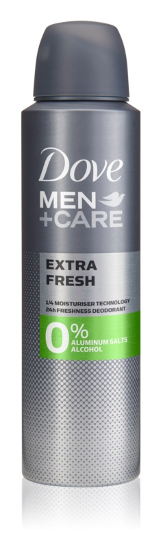 Dove Men+Care Extra Fresh дезодорант без вмісту спирту та алюмінію 24 години