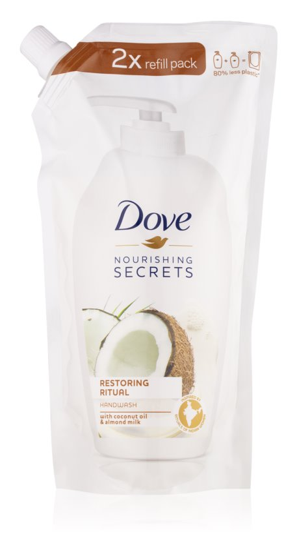 Dove Nourishing Secrets Restoring Ritual jemné tekuté mydlo na ruky náhradná náplň