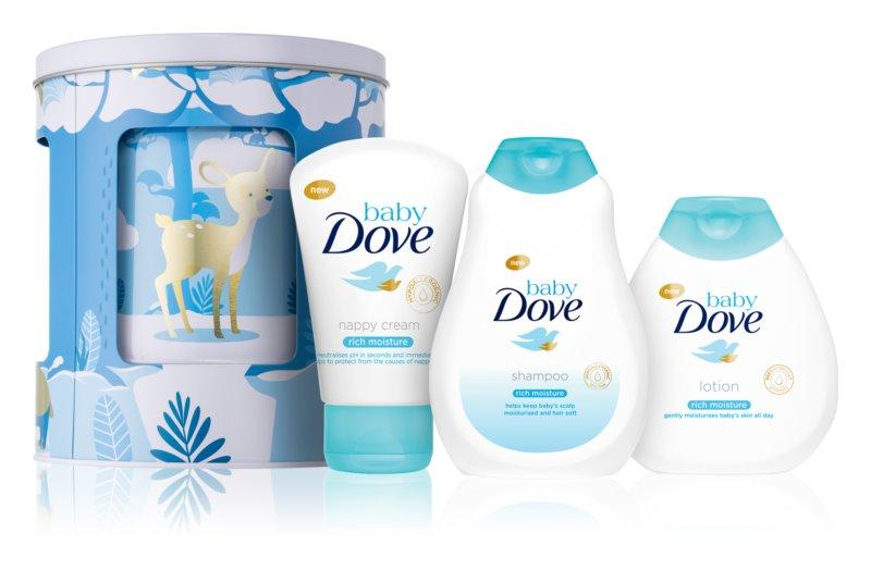 Dove Baby Rich Moisture zestaw upominkowy I. (dla dzieci)