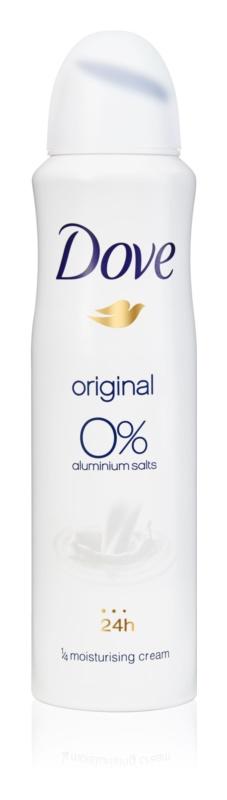 Dove Original дезодорант без вмісту спирту та алюмінію 24 години