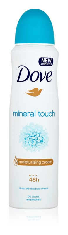Dove Mineral Touch Antiperspirant Spray