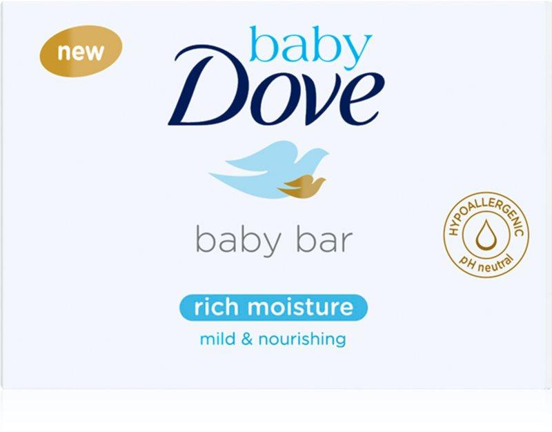 Dove Baby Rich Moisture krémes tisztító tabletta
