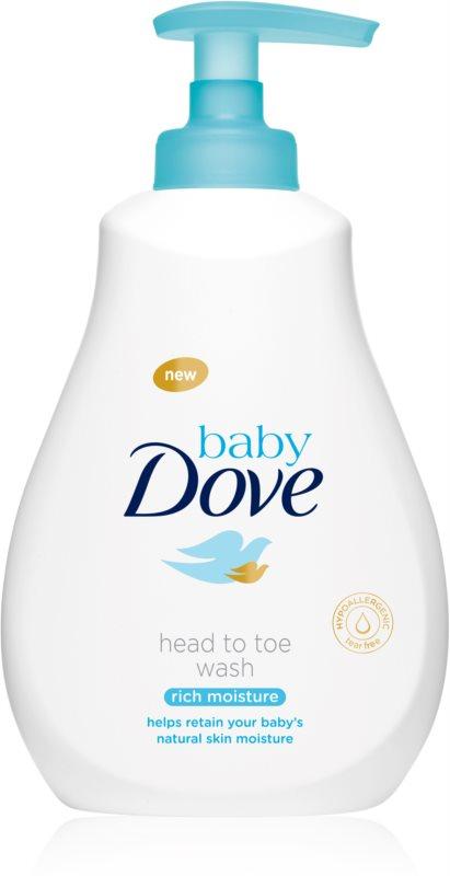 Dove Baby Rich Moisture Waschgel Für Körper und Haar