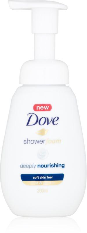 Dove Deeply Nourishing sprchová pěna s vyživujícím účinkem