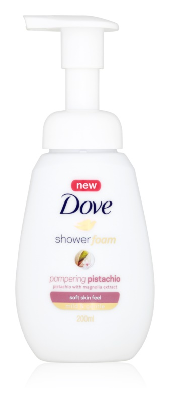 Dove Pampering Pistachio Shower Foam
