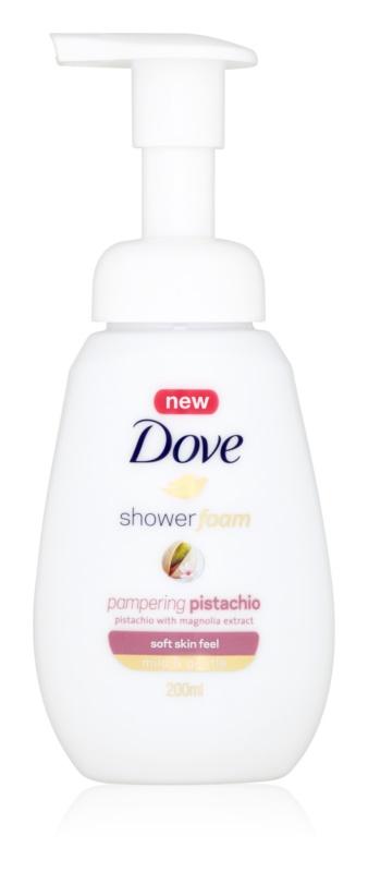 Dove Pampering Pistachio sprchová pěna