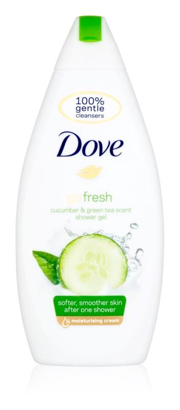 Dove Go Fresh Fresh Touch tápláló tusoló gél