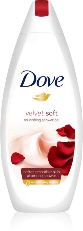 Dove Velvet Soft Moisturizing Shower Gel