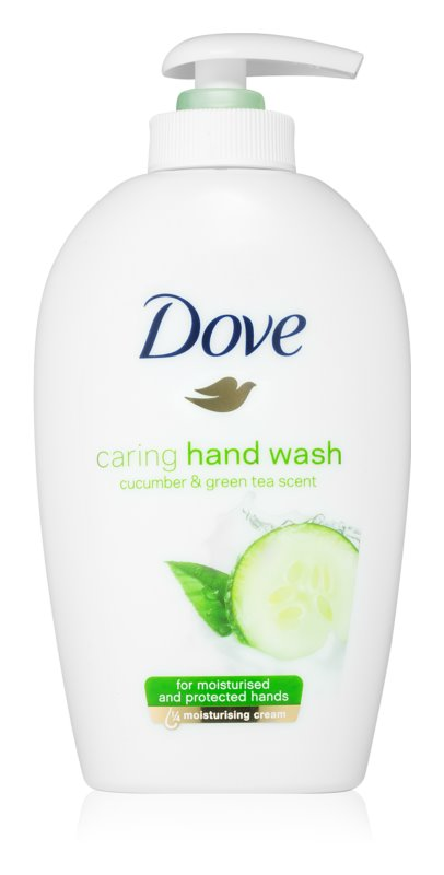 Dove Go Fresh Cucumber & Green Tea jemné tekuté mýdlo na ruce
