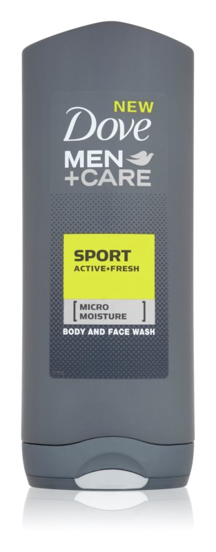 Dove Men+Care Active + Fresh Shower Gel for Body and Face