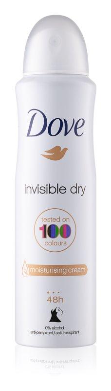 Dove Invisible Dry Antiperspirant Spray 48h