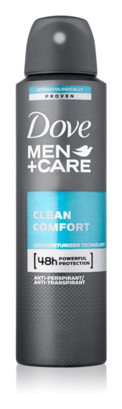 Dove Men+Care Clean Comfort deodorante antitraspirante in spray 48 ore