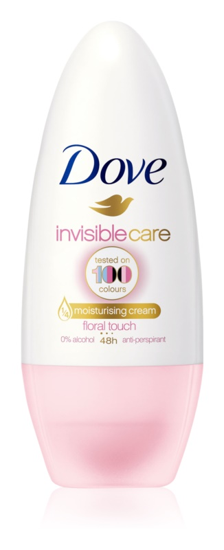 Dove Invisible Care Floral Touch antiperspirant roll-on bez alkoholu