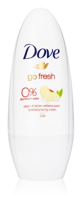 Dove Go Fresh Peach & Lemon Verbena Deodorant roll-on 24 de ore