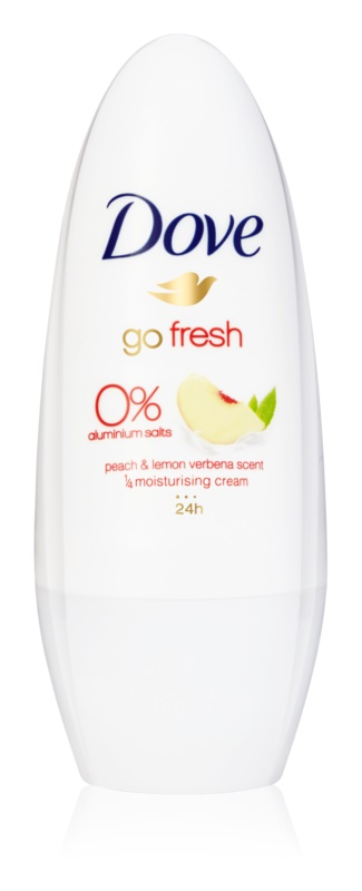 Dove Go Fresh Peach & Lemon Verbena Roll-On Deodorant  24 h