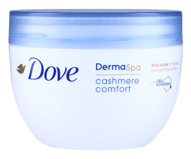 Dove DermaSpa Cashmere Comfort Renewing Body Butter for Soft and Smooth Skin