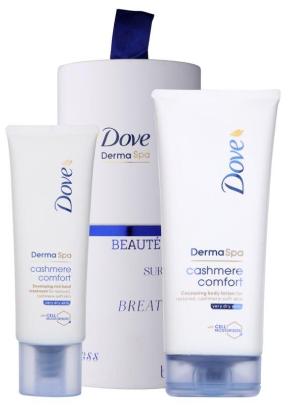 Dove DermaSpa Cashmere Comfort coffret cosmétique I.