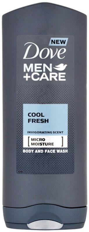 Dove Men+Care Cool Fresh Douchegel  voor Lichaam en Gezicht