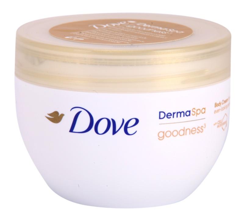 Dove DermaSpa Goodness3 Body Cream for Soft and Smooth Skin