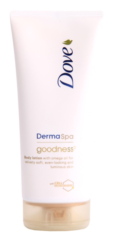 Dove DermaSpa Goodness³ Body Lotion for Soft and Smooth Skin