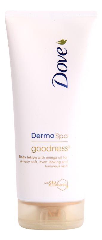 Dove DermaSpa Goodness³ Body Lotion voor Zachte en Zijdezachte Huid