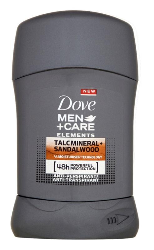 Dove Men+Care Elements antitranspirante en barra 48h