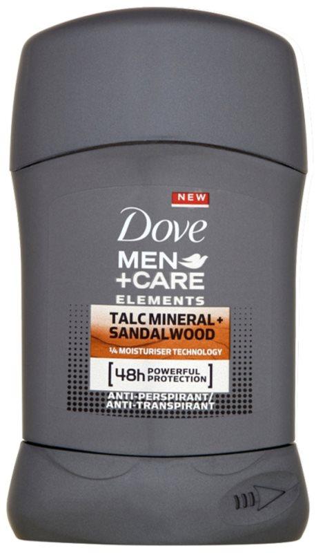 Dove Men+Care Elements festes Antitranspirant 48h