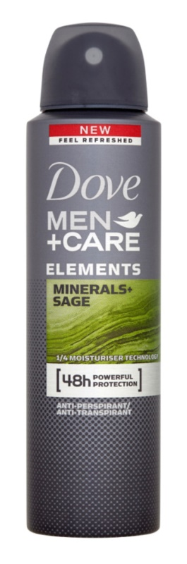 Dove Men+Care Elements desodorizante antitranspirante em spray 48 h