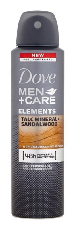 Dove Men+Care Elements antiperspirant ve spreji 48h