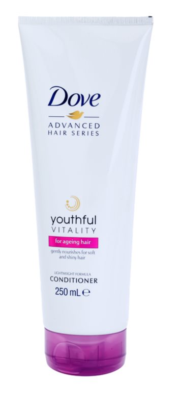 Dove Advanced Hair Series Youthful Vitality Conditioner  voor Futloss Haar zonder Glans